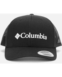 Columbia Mesh Back Snapback Cap - Black