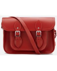 Cambridge Satchel Company Women's 11 Inch Magnetic Satchel - Red