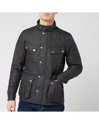 Barbour International Ariel Quilt Jacket - Grey