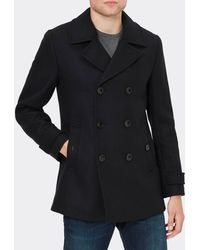 Ted Baker - Grilld Wool Pea Coat - Lyst
