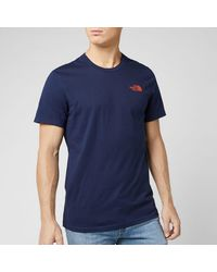The North Face Simple Dome Short Sleeve T-shirt - Blue