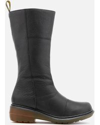 Dr. Martens | Charla Broadway High Boots | Lyst