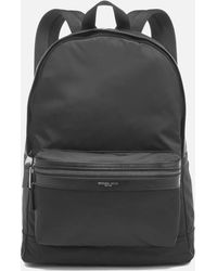 46a18cec1298 Michael Kors Kent Nylon Cycling Backpack in Black for Men - Lyst