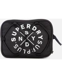 Superdry Surplus Goods Travel Bag - Black