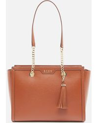 DKNY Polly Sutton Tote Bag - Brown