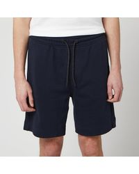BOSS by Hugo Boss Skoleman Jersey Shorts - Blue