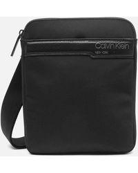 Calvin Klein Flat Pack Shoulder Bag - Black