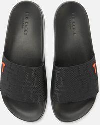 4a2299c90cd12 Ted Baker - Mastal Slide Sandals - Lyst