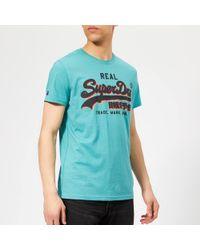 Superdry - Panel Light T-shirt - Lyst