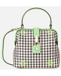 Kate Spade Remedy Gingham Small Top Handle Bag - Multicolour