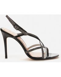 Ted Baker Theanaa Strappy Heeled Sandals - Black