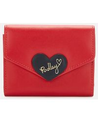 Radley I Love You Small Trifold Cardholder - Red