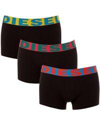 DIESEL - Shawn Three Pack Boxer Shorts - Lyst