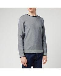 Ted Baker Carriag Crewneck Sweatshirt - Blue