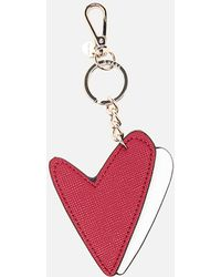 Guess - Pinup Pop Heart Keychain - Lyst