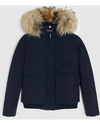 Woolrich Luxe Bomber - Black