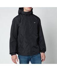 Tommy Hilfiger Packable Windbreaker Jacket - Black