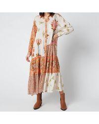 Free People Days Of Ditzies Dress - Orange
