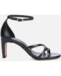Whistles Hallie Strappy Heeled Sandals - Black