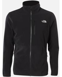 The North Face Glacier Pro Full Zip Fleece Sweater - Black