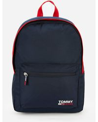 Tommy Hilfiger Campus Medium Dome Backpack - Blue