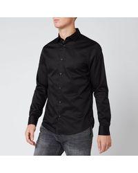 Armani Exchange - Long Sleeve Shirt - Lyst