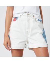 Tommy Hilfiger Mom Shorts - Blue