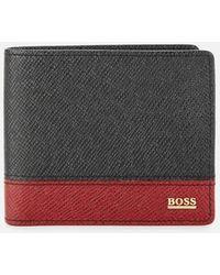 BOSS Signature Wallet - Black