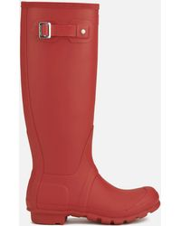 HUNTER - Original Tall Wellies - Lyst