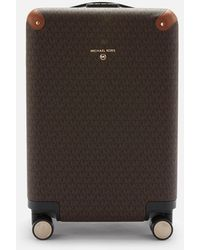 MICHAEL Michael Kors Travel Signature Small Hardcase Trolley - Brown