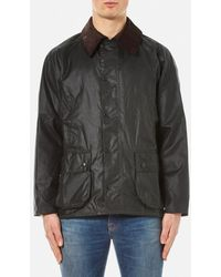 Barbour Bedale Wax Jacket - Green