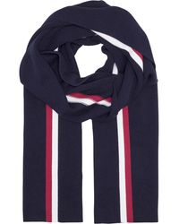 Tommy Hilfiger Corporate Pima Cotton Scarf - Blue