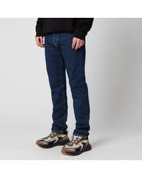 Edwin Ed-80 Slim Tapered Yoshiko Left Hand Akira Wash Jeans - Blue