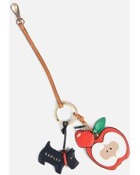 Radley To The Core Bag Charm Wallet - Multicolor