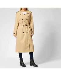 Levi's Kate Trench Coat - Natural