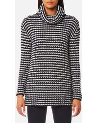 Barbour - Northcoates Knitted Jumper - Lyst