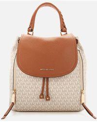 MICHAEL Michael Kors Viv Large Backpack - Brown