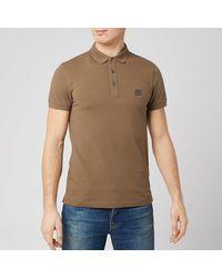 BOSS Boss Passenger Polo Shirt - Brown