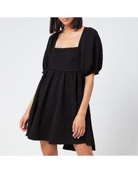 Free People Violet Mini Dress - Black