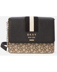 DKNY Liza Small Chain Shoulder Bag - Black