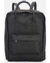 Fjallraven Re-kanken Backpack - Black