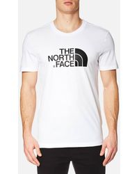 The North Face Short Sleeve Easy T Shirt - White