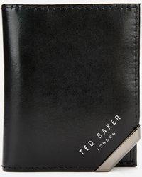 Ted Baker Coral Corner Detail Cardholder - Black