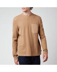 Ted Baker Zaplan Long Sleeve Top - Brown
