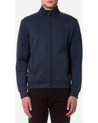 BOSS Green - Skaz Zipped Sweatshirt - Lyst