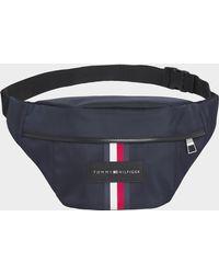 Tommy Hilfiger Uptown Nylon Cross Body Bag - Blue