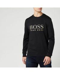 BOSS by Hugo Boss Tracksuit Sweatshirt - Black