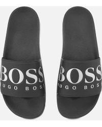 BOSS Green - Solar Slide Sandals - Lyst