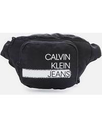 Calvin Klein Girl's Seasonal Logo Waistpack - Black