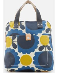 Orla Kiely - Laminated Scallop Flower Spot Small Tote Backpack - Lyst